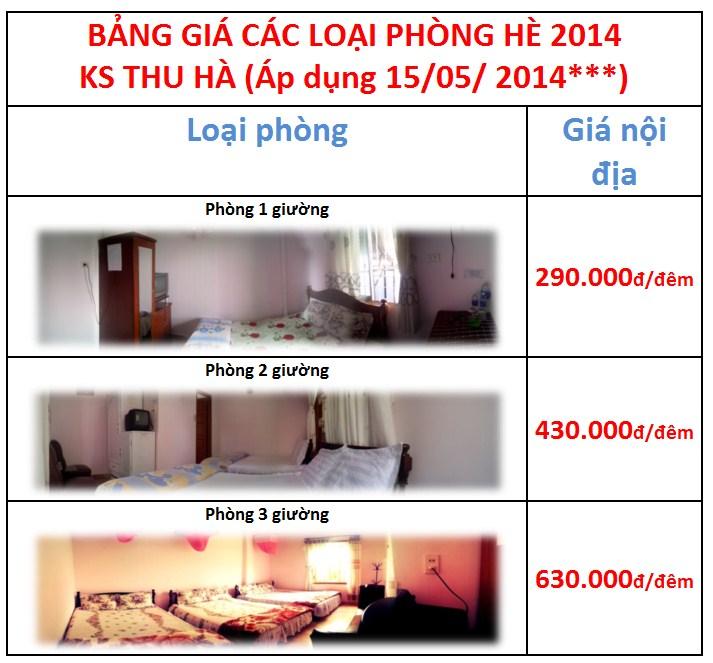 bang gia khach san thu ha da lat he 2014