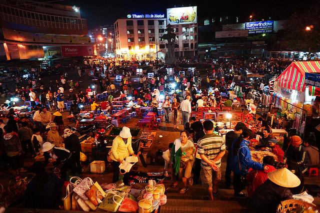 mẹo du lịch đà lạt - chợ đêm