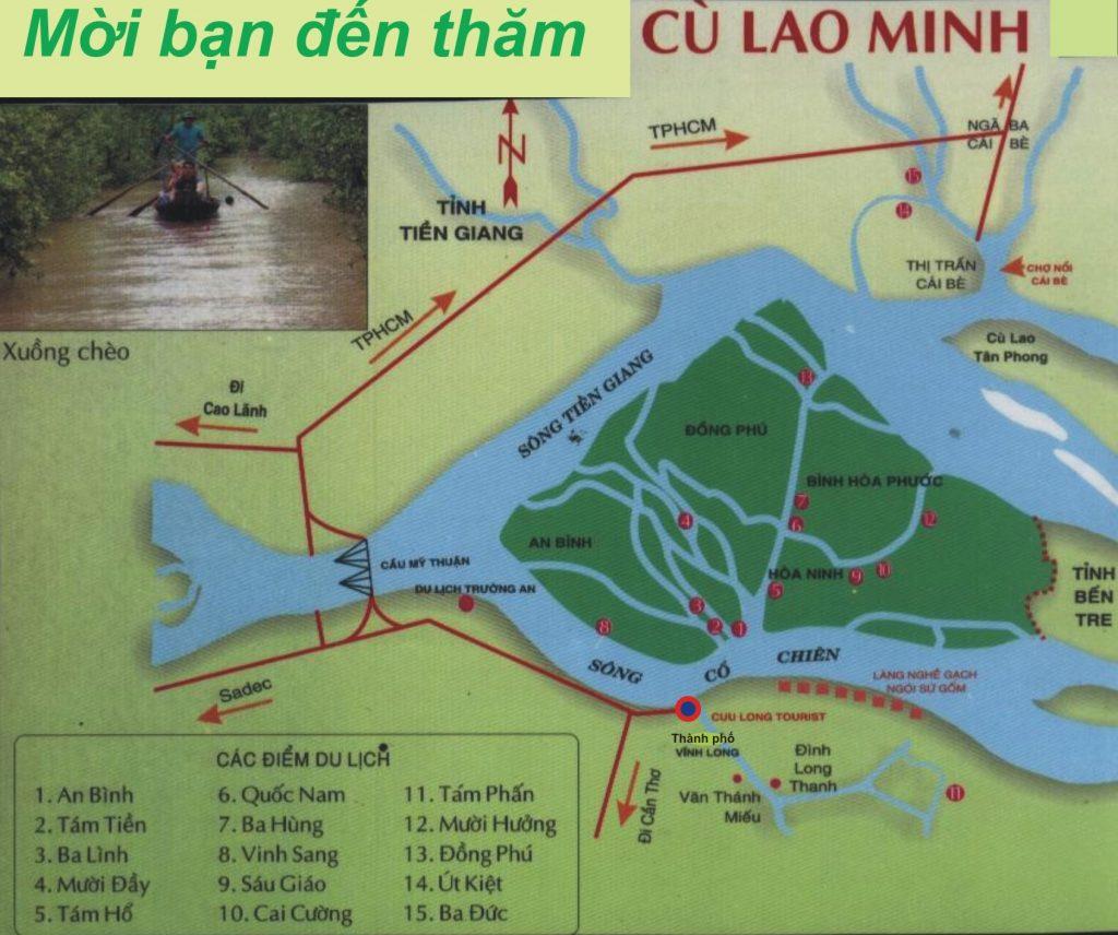 Cù Lao An Bình cách Sài Gòn không xa, thế nhưng lại yên bình và nhẹ nhàng khác hẳn sự nhộn nhịp của thành phố mang tên Bác.