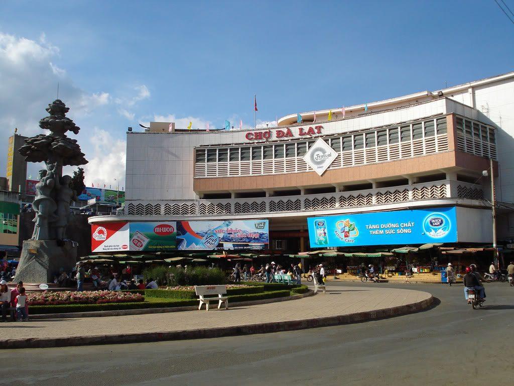 Chợ Đà Lạt là điểm đến thu hút nhiều du khách thập phương.