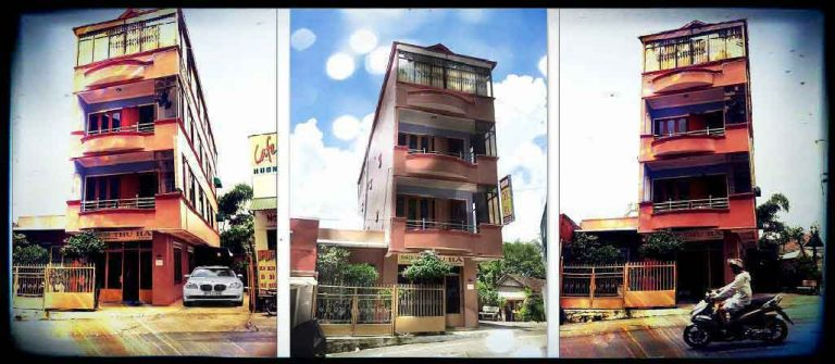 khách sạn Thu Hà trên đường Hòa Bình Đà Lạt
