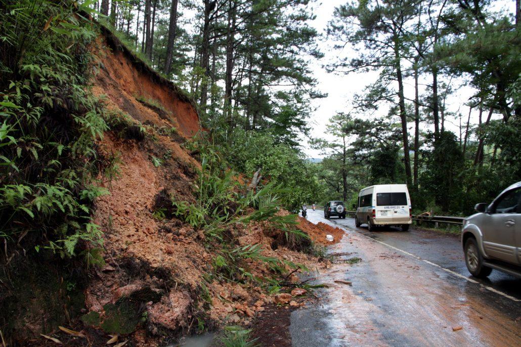 Đà Lạt mùa mưa thường xuất hiện vào tháng 7 đến tháng 10.
