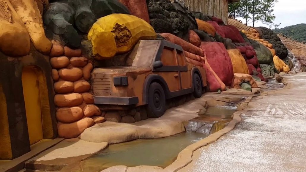 Đường hầm đất sét là địa điểm du lịch mới tại Đà Lạt.