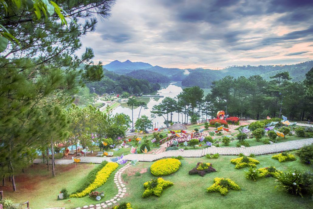 Thung lũng tình yêu tuyệt đẹp chỉ có ở Đà Lạt.