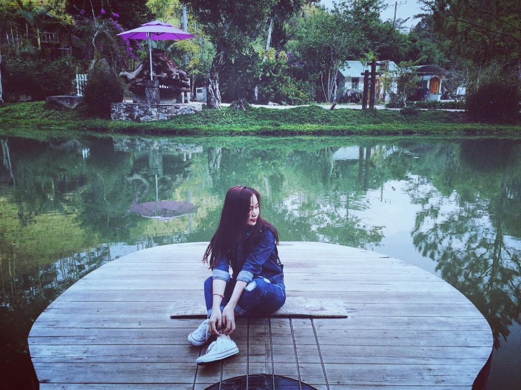 Ma rừng lữ quán có rất nhiều cảnh đẹp lãng mạn.