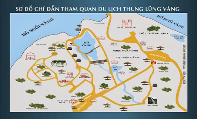 Bản đồ khu du lịch