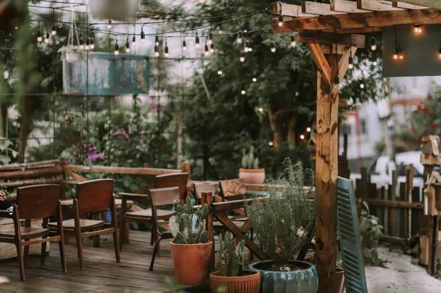 Route 66 café khá yên tĩnh và đầy thơ mộng