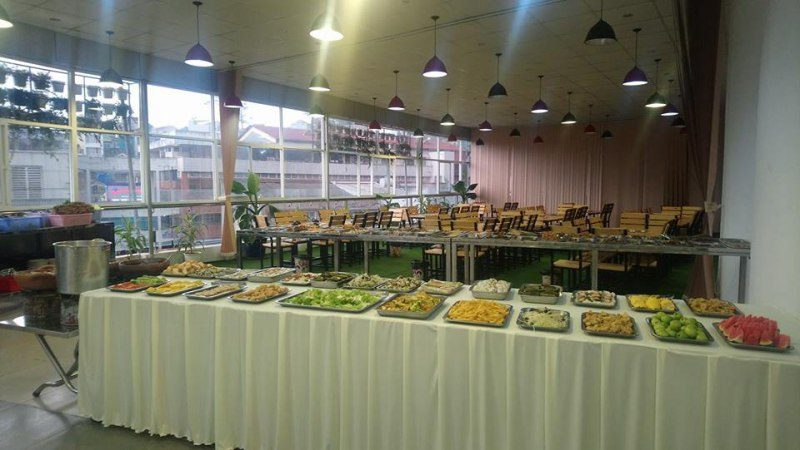 Buffet tối ở Đà Lạt
