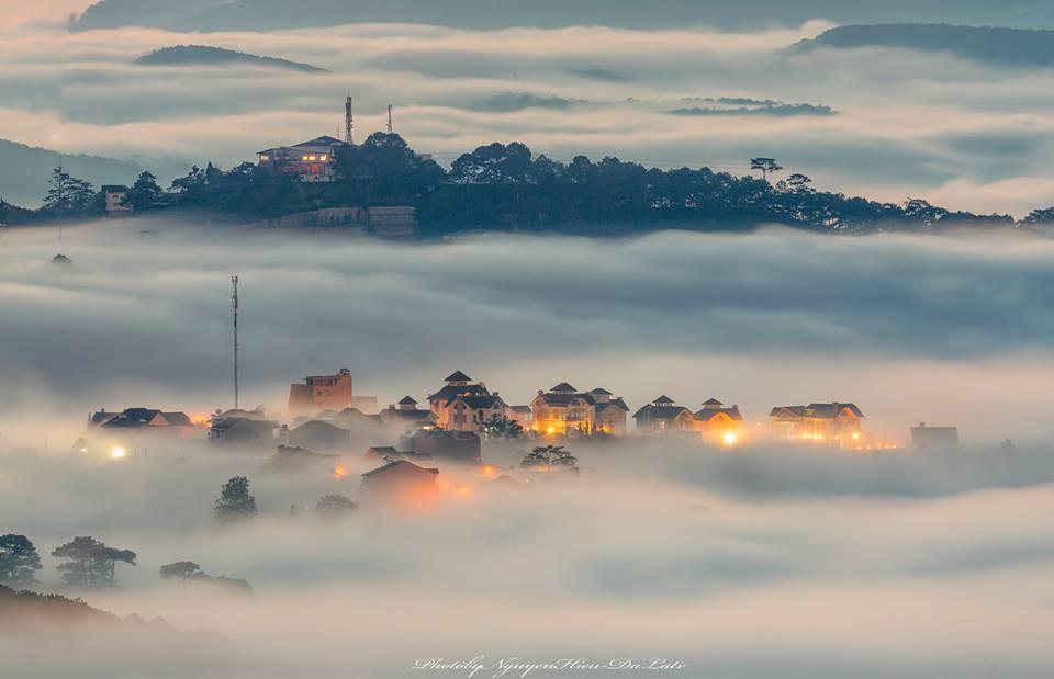 Màn sương sớm những ngày đầu tháng 9
