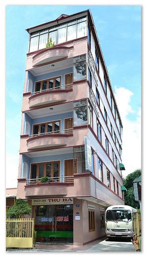 Hình ảnh mặt tiền khách sạn Thu Hà