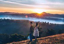 Bình minh Đà Lạt là khung cảnh tuyệt vời khiến nhiều du khách thổn thức